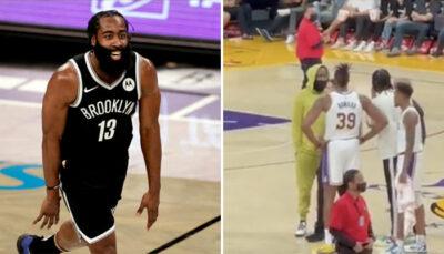 En survêt, James Harden fait tomber Dwight Howard dans le piège ! NBA