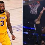 NBA – Nicolas Batum se mange un vilain poster, LeBron réagit !