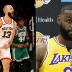 NBA – LeBron réagit au match fou des Knicks et de Fournier, Evan lui répond !