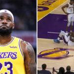 NBA – LeBron réaggrave une vieille blessure et inquiète les fans avec sa déclaration !