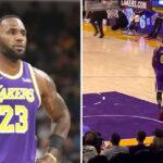 NBA – Désespéré, LeBron « abandonne » en plein match !