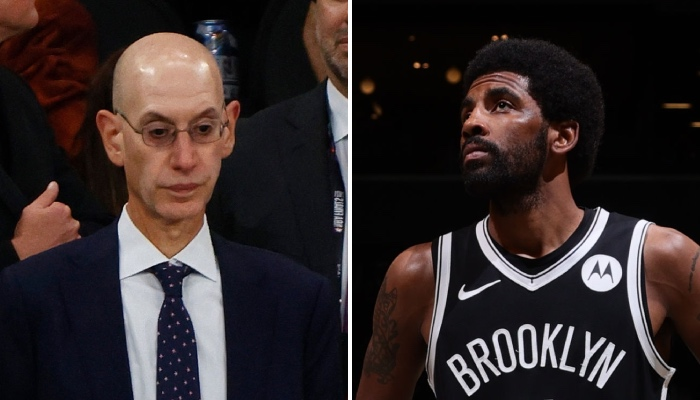 Adam Silver breaks the silence and reacts cash to drama Kyrie Irving!