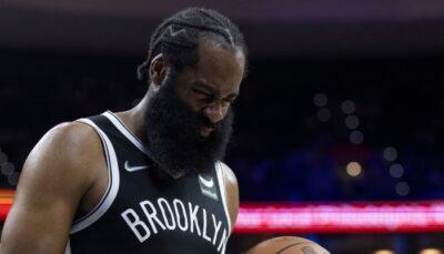 La superstar NBA des Brooklyn Nets, James Harden, a effectué un terrible aveu au sujet de ses performances au scoring et de son état physique