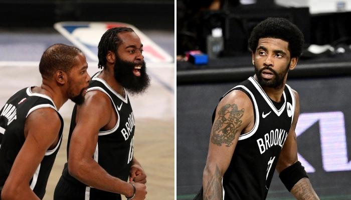 Les superstars NBA des Brooklyn Nets, Kevin Durant et James Harden, ne devraient pas observer la situation de leur coéquipier phare, Kyrie Irving, sans rien faire, d'après l'avis d'un ancien champion
