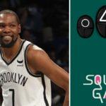 NBA – KD lâche une punchline sur Squid Game… et se fait magistralement troller !