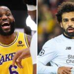 NBA – L'énorme message de LeBron pour Mo Salah !