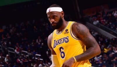La superstar NBA des Los Angeles Lakers, LeBron James, a vu l'une des grosses rumeurs le concernant être démentie au sujet de sa transformation physique !