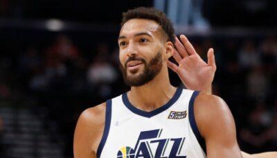 Le pivot français du Utah Jazz, Rudy Gobert, a dévoilé la particularité qui lui permet de se démarquer par rapport aux autres joueurs de la ligue