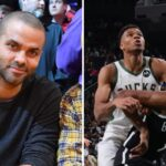 NBA – La photo virale de Tony Parker présent à Nets/Bucks avec 2 grosses stars !