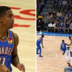 NBA – Théo Maledon se prend un move archi-sale et finit au sol !