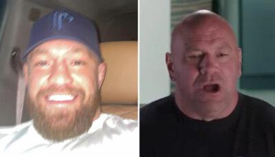 UFC – Conor McGregor fait fuiter un document confidentiel, Dana White réagit !