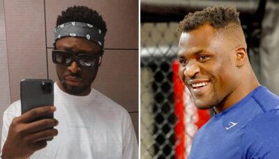 UFC – Francis Ngannou envoie un message à Dadju, le frère de Gims, il répond !