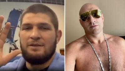 Le message de Khabib Nurmagomedov pour Tyson Fury